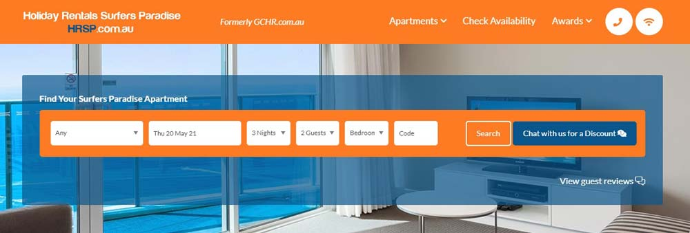 Holiday Rentals Surfers Paradise
